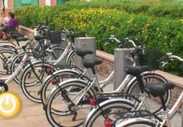 Inaugurado el Servicio Público de Alquiler de Bicicletas