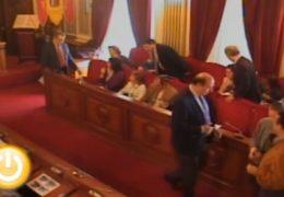 Pleno de noviembre de 2009 del Ayuntamiento de Badajoz