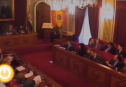 Pleno de diciembre de 2009 del Ayuntamiento de Badajoz