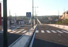 La antigua N-V y la rotonda de Las Grullas, unidas por un nuevo vial