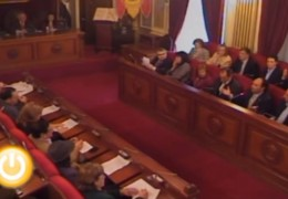 Pleno de febrero de 2010 del Ayuntamiento de Badajoz