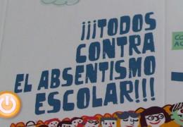 Servicios Sociales presenta una campaña contra el absentismo escolar