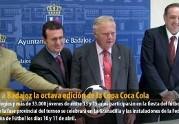 LLega a Badajoz la octava edición de la Copa Coca Cola
