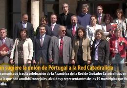 Celdrán sugiere la unión de Portugal a las Red Catedralicia