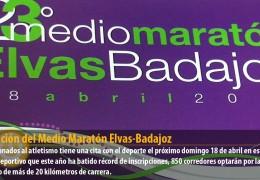 23 Edición del Medio Maratón Elvas-Badajoz