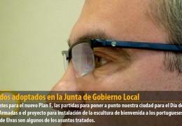 Acuerdos adoptados en la Junta de Gobierno Local