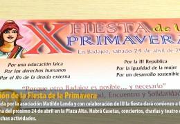 X Edición de la Fiesta de la Primavera