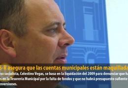 El GMS-R asegura que las cuentas municipales están maquilladas