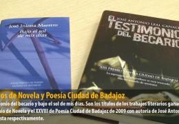 Premios de Novela y Poesía Ciudad de Badajoz