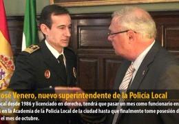 Juan José Venero, nuevo superintendente de la Policía Local