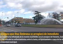 Vegas asegura que Díaz Ambrona se arreglará de inmediato