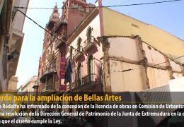 Luz verde para la ampliación de Bellas Artes