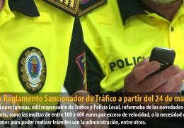 Nuevo Reglamento Sancionador de Tráfico a partir del 24 de mayo