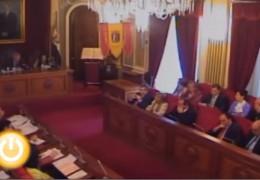 Pleno de mayo de 2010 del Ayuntamiento de Badajoz