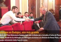 El balonmano en Badajoz, aún más grande