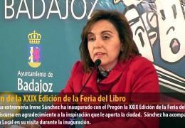 Pregón de la XXIX Edición de la Feria del Libro