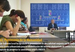 Badajoz, Patrimonio de la Humanidad