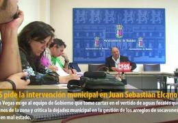 El GMS pide la intervención municipal en Juan Sebastián Elcano