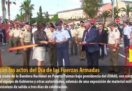 Arrancan los actos del Día de las Fuerzas Armadas