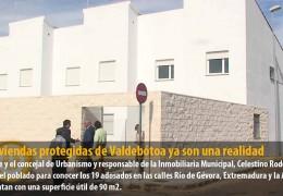 Las viviendas protegidas de Valdebótoa ya son una realidad