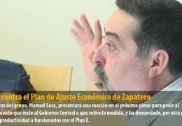 IU, en contra el Plan de Ajuste Económico de Zapatero