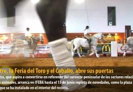 Ecuextre, la Feria del Toro y el Caballo, abre sus puertas