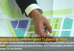 La nueva facultad de medicina tendrá 12 plantas de altura