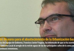 1 millón de euros para el abastecimiento de la Urbanización Guadiana