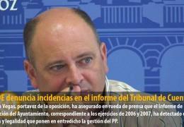 El PSOE denuncia incidencias en el informe del Tribunal de Cuentas