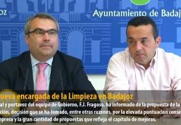 FCC, nueva encargada de la Limpieza en Badajoz