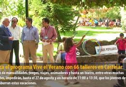 Arranca el programa Vive el Verano con 66 talleres en Castelar