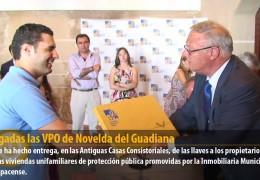 Entregadas las VPO de Novelda del Guadiana