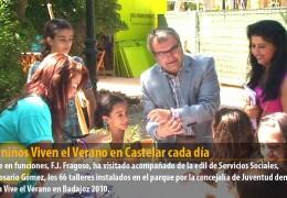 2.000 niños Viven el Verano en Castelar cada día