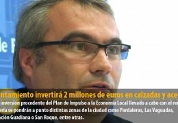 El Ayuntamiento invertirá 2 millones de euros en calzadas y aceras