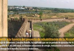 Luz verde a la licencia del proyecto de rehabilitación de la Alcazaba