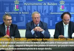 Ayuntamiento y RODAMCO permutarán terrenos mediante convenio