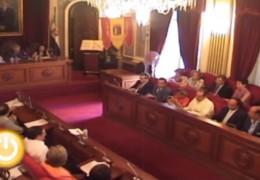Pleno de septiembre de 2010 del Ayuntamiento de Badajoz