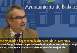 Fragoso responde a Vegas sobre los importes de los contratos