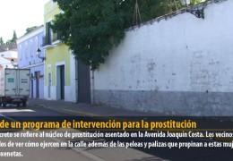IU pide un programa de intervención para la prostitución