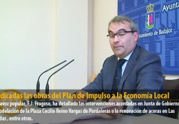 Adjudicadas las obras del Plan de Impulso a la Economía Local