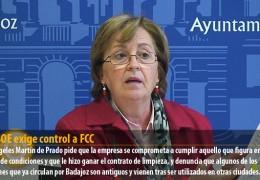 El PSOE exige control a FCC