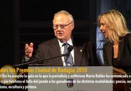 Fallados los Premios Ciudad de Badajoz 2010