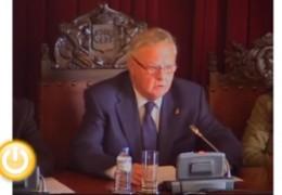 Pleno extraordinario de noviembre de 2010 del Ayuntamiento de Badajoz