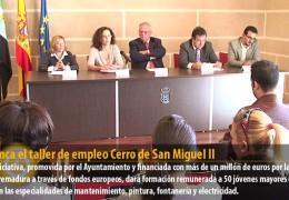 Arranca el taller de empleo Cerro de San Miguel II