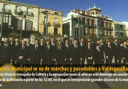 La Banda Municipal se va de marchas y pasodobles a Valdepasillas