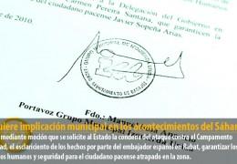 IU quiere implicación municipal en los acontecimientos del Sáhara