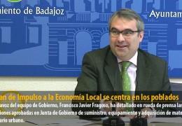 El Plan de Impulso a la Economía Local se centra en los poblados