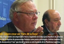 """Celdrán quiere crear un """"Foro de la Raya"""""""