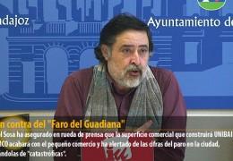 """IU, en contra del """"Faro del Guadiana"""""""