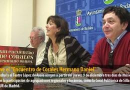 """Vuelve el """"Encuentro de Corales Hermano Daniel"""""""